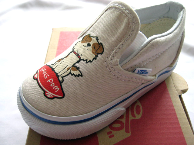 入手困難!Vans Vault x Murakami Toddlers Slip-On Pom犬