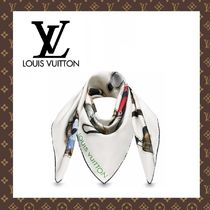 LOUIS VUITTON☆ヴィトン CARRE STICKERS スカーフ