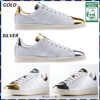 c1b78896a24a8e adidas スニーカー 関税込☆adidas Originals Stan Smith☆Gold&Silver 完売前に!! ...