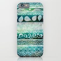 【海外限定】society6★Dreamy Tribal Part VIII iPhoneケース