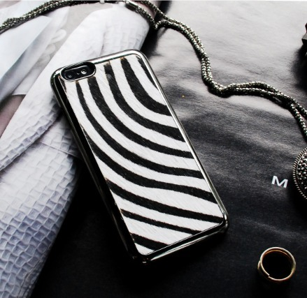 SMART PHONE CASE/上級ブランド/BACKCOVER ZEBRA IPHONE6
