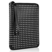 TOPセラー賞受賞┃ルブタン┃Spiked leather iPad case