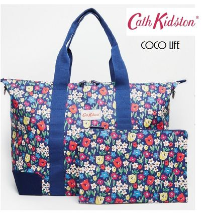 Cath Kidston トートバッグ 【送料込】 国内発送Cath Kidston折りたためるプリントバッグ☆
