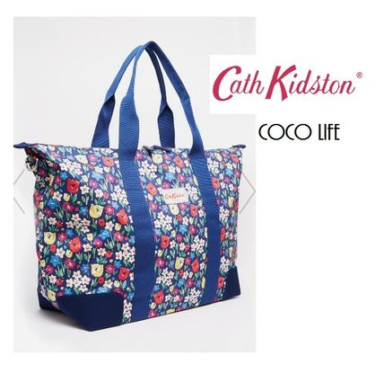 Cath Kidston トートバッグ 【送料込】 国内発送Cath Kidston折りたためるプリントバッグ☆(2)