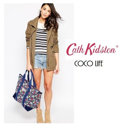 Cath Kidston トートバッグ 【送料込】 国内発送Cath Kidston折りたためるプリントバッグ☆(3)