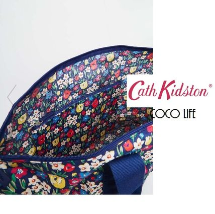 Cath Kidston トートバッグ 【送料込】 国内発送Cath Kidston折りたためるプリントバッグ☆(4)