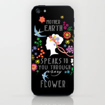 【海外限定】society6★Mother Earth iPhoneシール