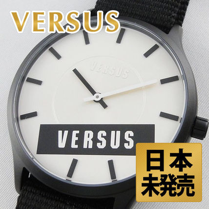Versace versus watches men's watches black and white