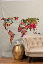 DENY Designs◆タペストリー◆its your world by bianca gre