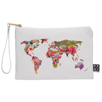 DENY Designs◆選べるツータイプ◆ポーチ◆its your world by b