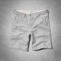 【国内即発】アバクロ A&F CLASSIC FIT SHORTS★GREY STRIPE★30