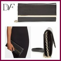 送料関税込【DVF】Voyage After 6 Convertible Envelope Clutch