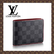 LOUIS VUITTON☆ヴィトン PORTEFEUILLE MULTIPLE 折りたたみ財布