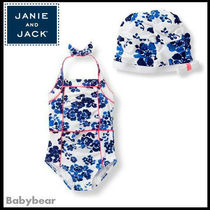 【Janie and Jack】スイムキャップとワンピース水着セット 即納
