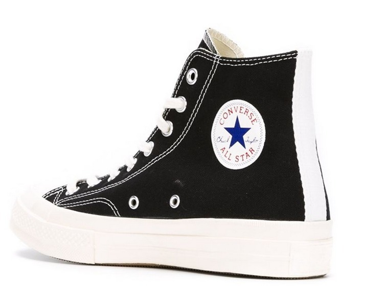 COMME des GARCONS Low-Top New-Play Converse-Chuck Taylor ' 70 High Black unisex 10