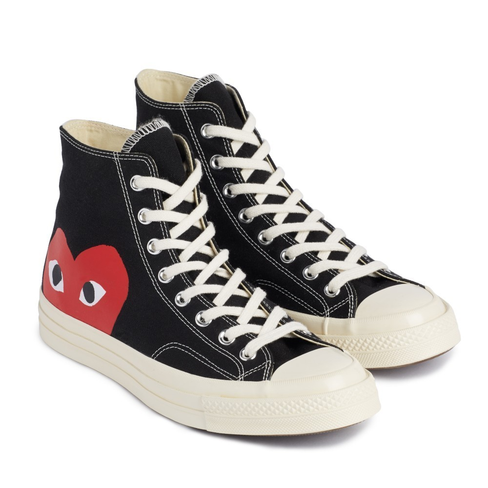 COMME des GARCONS Low-Top New-Play Converse-Chuck Taylor ' 70 High Black unisex 2