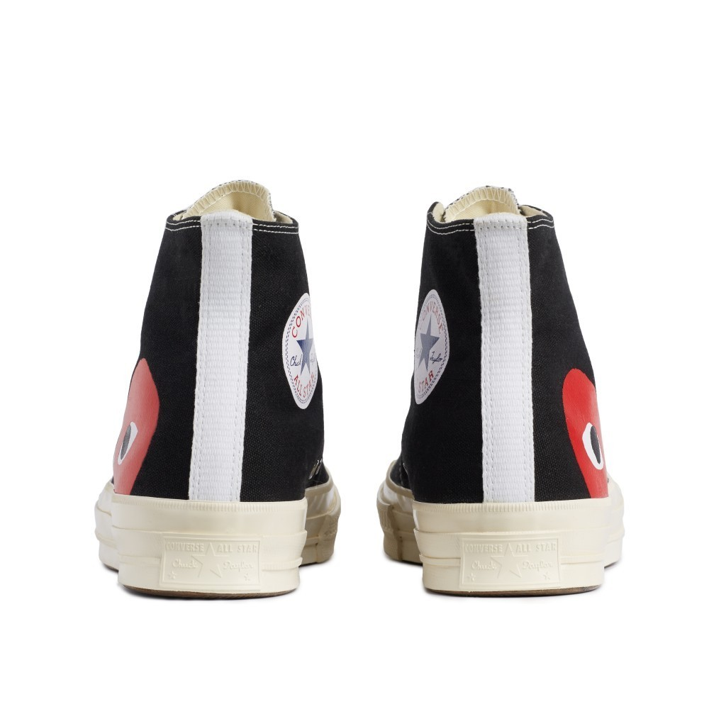 COMME des GARCONS Low-Top New-Play Converse-Chuck Taylor ' 70 High Black unisex 4