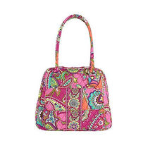 在庫有即発 ★Turn Lock Satchel in Pink Swirls