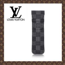LOUIS VUITTON☆ETUI 1 STYLO DAMIER GRAPHITE ペンケース