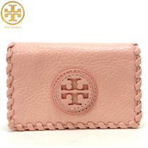 TORY BURCH MARION FOLDABLE カードケース 名刺れ ピンク