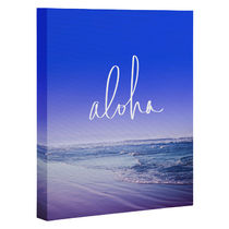 DENY Designs◆キャンバスアート◆aloha beach by leah flores