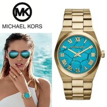 ターコイズ♪ 大人気☆ Michael Kors Women's Channing Watch