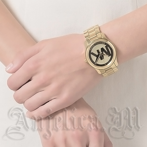 ★NEW★Michael Kors Runway Gold-Tone Ladies Watch MK5786