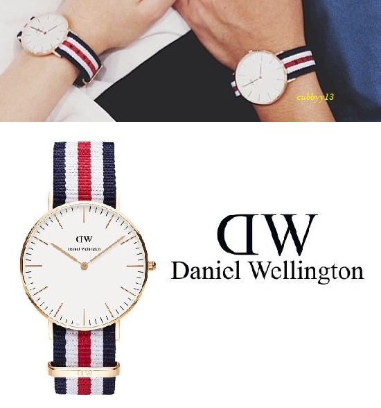 【人気】Daniel Wellington Canterbury ウォッチ0502D腕時計