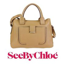 2015AW新作 ☆See by Chloe☆ DELIA Satchel 2wayバッグ L♪