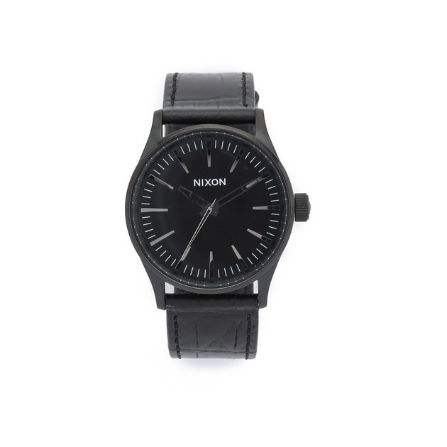 【国内発送・税込】Nixon Sentry 38 Watch with Leather Strap