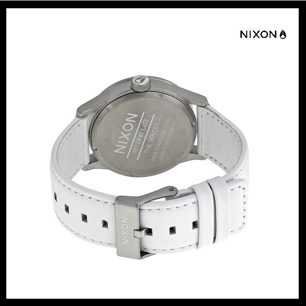 【国内発送・税込】★Nixon Sentry Leather Unisex Watch♪★