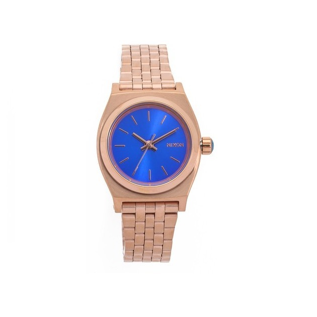 【国内発送・税込】Nixon Small Time Teller Watch(Gold/Cobalt)