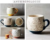 New!国内発送Anthropologie*Cat Study マグ♪