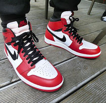 "☆Nike☆ AIR JORDAN 1.5 HI THE RETURN VARSITY ""Chicago"""
