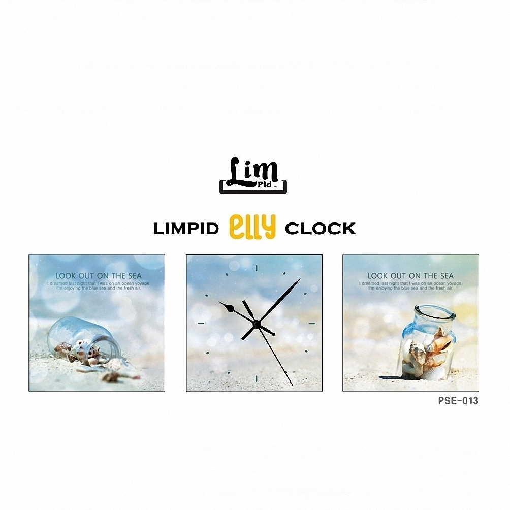 LIMPID ELLY FRAMELESS WALL CLOCK壁掛け時計 PSE-013