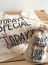 TODAY'S SPECIAL(トゥデイズスペシャル) トートバッグ 【送込】TODAY'S SPECIAL ミニマルシェバック(小)ラッピング袋付