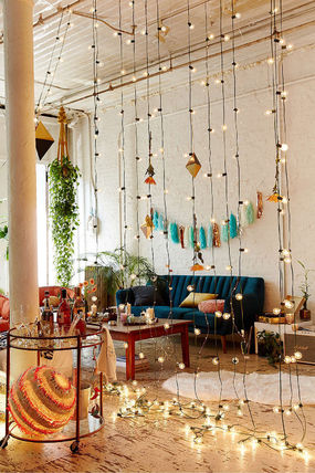 Urban Outfitters Globe String Lights
