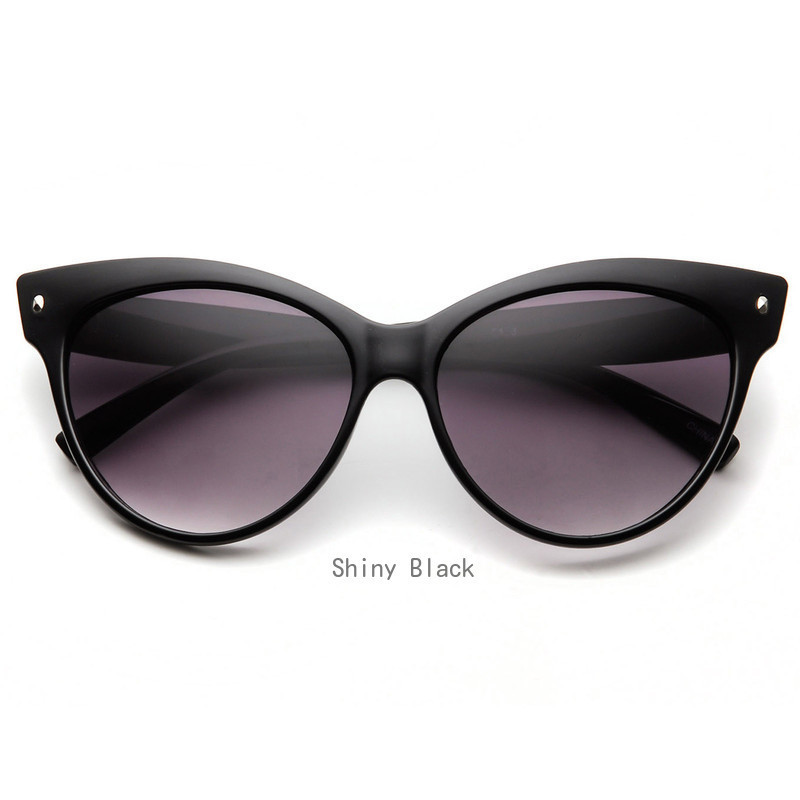 zeroUV*High Pointed Over Size Cat Eye サングラス(全9色)