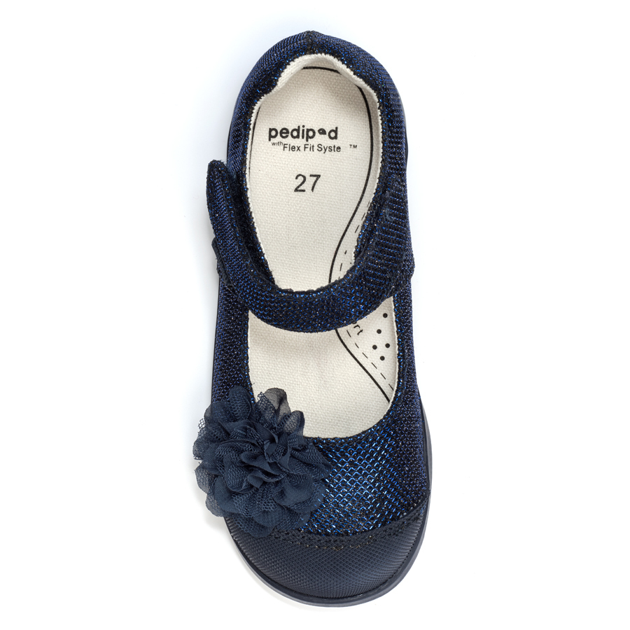 Pediped Flex★2015年秋冬新色★Estella-Navy [Flex Fit付き]