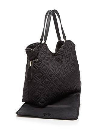 Tory Burch マザーズバッグ 最新作 限定セールトリーバーチ 2色 marion QUILTED  BABY BAG(8)