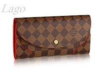 【新作】LouisVuitton♪長財布Caissa♪N61221♪