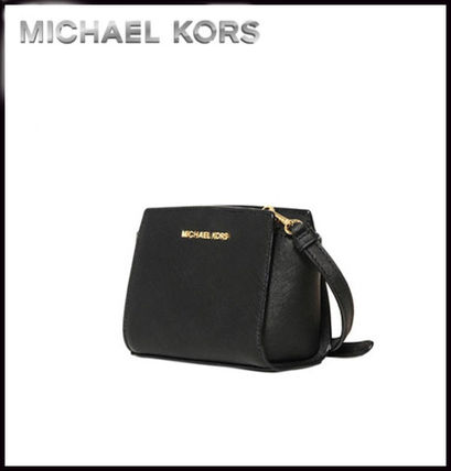 Michael Kors ショルダーバッグ・ポシェット MICHAEL KORS★SELMA SAFFIANO LEATHER MINI MESSENGER 国内発送(8)