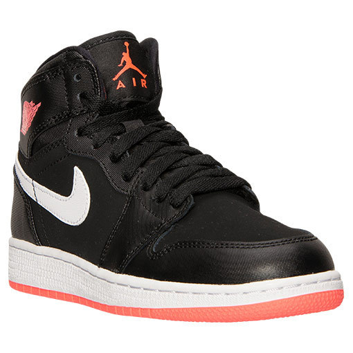 SS15 AIR JORDAN 1 MID GS BLACK HOT LAVA 22.5-29.5cm 送料無料