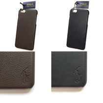 【国内在庫有】Polo Ralph Lauren Leather iPhone 6 Plus Case
