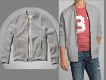 A&F《即発》シンプルNoonmark Fleece Baseball Jacket:サイズM