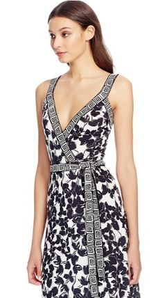Sale Samson DVF wrap Maxi dress dress
