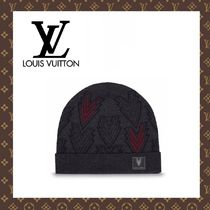 2015-16秋冬☆LOUIS VUITTON☆BONNET TRIPLE V ニット帽