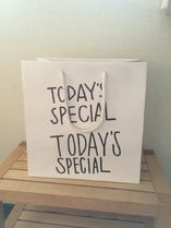 TODAY'S SPECIAL(トゥデイズスペシャル) トートバッグ 【送料無料】TODAY'S SPECIAL 正規店 ショッパー (紙袋)