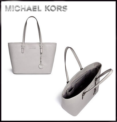 Michael Kors トートバッグ MICHAEL KORS★JET SET MEDIUM TRAVEL TOP ZIP TOTE 国内発送!(13)