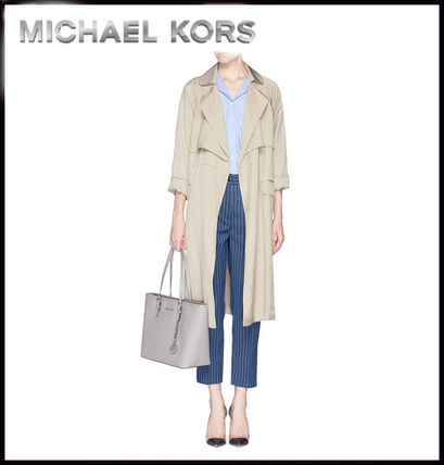 Michael Kors トートバッグ MICHAEL KORS★JET SET MEDIUM TRAVEL TOP ZIP TOTE 国内発送!(14)